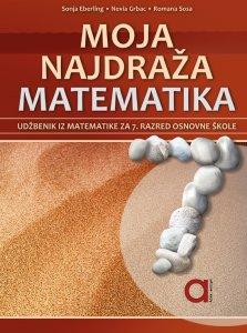MOJA NAJDRAŽA MATEMATIKA 7 naslovnica
