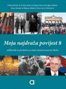MOJA NAJDRAŽA POVIJEST 8 naslovnica